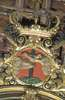 Image of Emblema franciscano; Retablo mayor