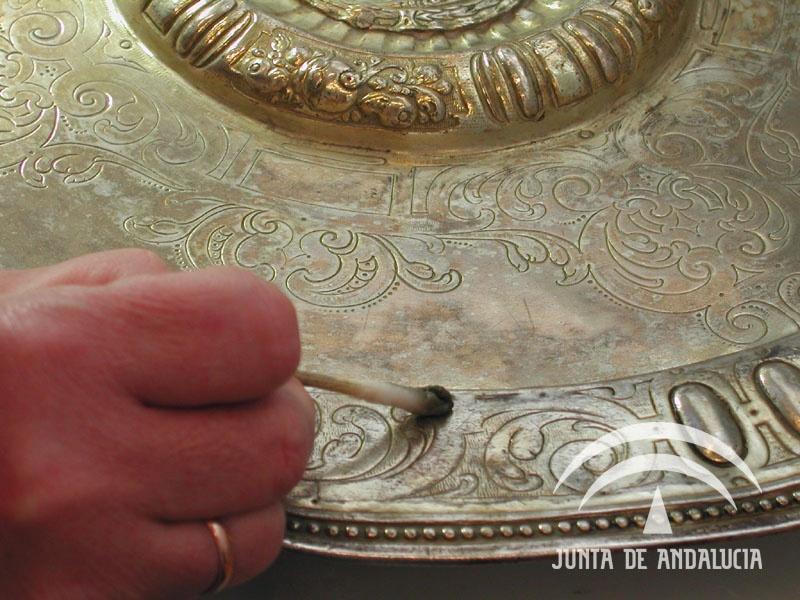 Bandejas iglesia del salvador sevilla for Registro de bienes muebles de sevilla