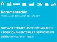 Nuevas estrategias de optimización y posicionamiento para servicios en línea (formación en línea)