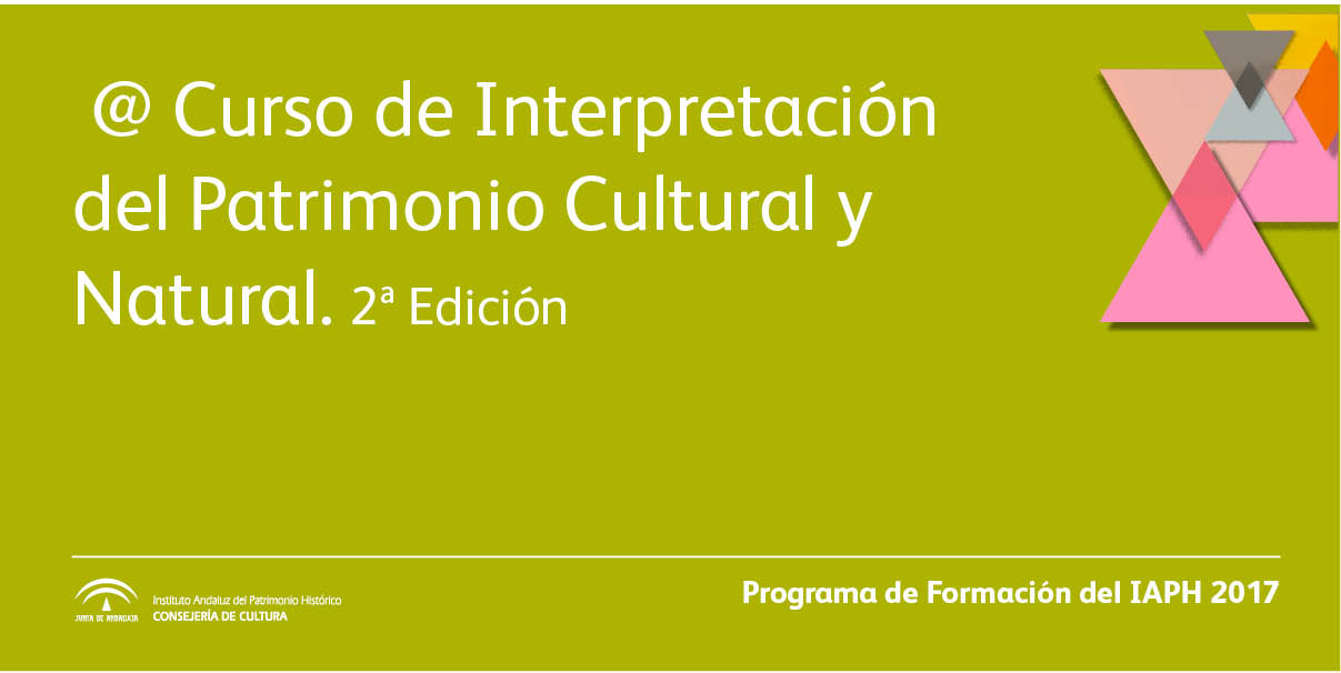Curso de Interpretación del Patrimonio Cultural y Natural, 2ª edición (teleformación)