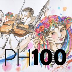 cubierta revista PH 100